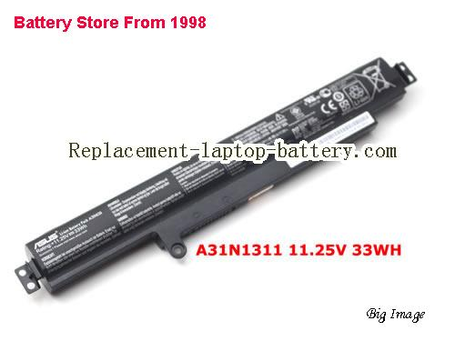 ASUS A31N1311 Battery 33Wh Black