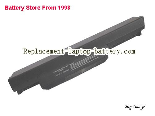 ASUS X43T Battery 7200mAh Black