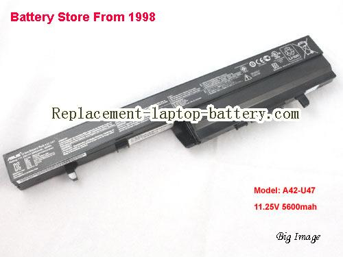 ASUS U47ARF Battery 5600mAh Black