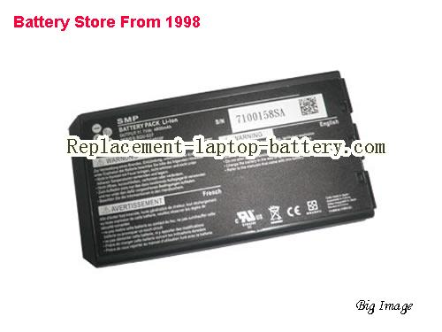 PACKARD BELL Easynote S5928 Battery 4800mAh Black