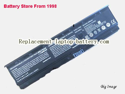 HASEE ZX6-CP5S Battery 4300mAh, 47Wh  Black