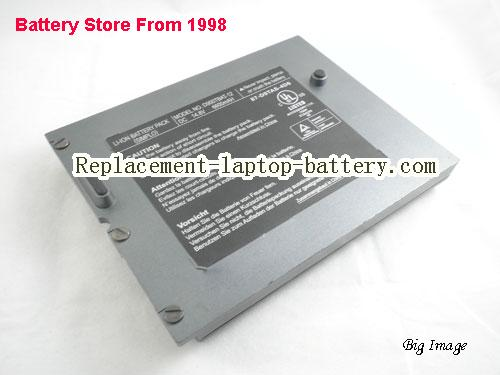 CLEVO D900TBAT-12 Battery 6600mAh Grey