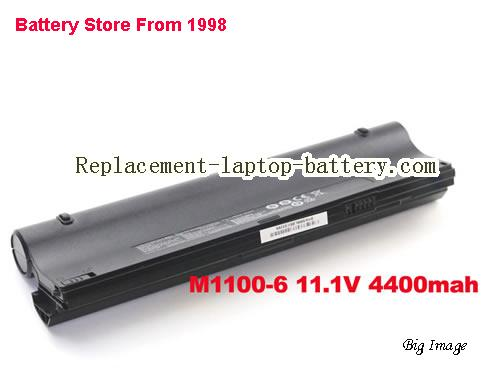 Battery for CLEVO M1110Q Laptop, buy CLEVO M1110Q laptop