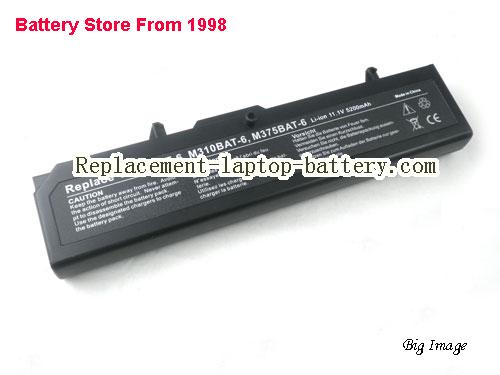 CLEVO 87-M36CS-496 Battery 4400mAh Black