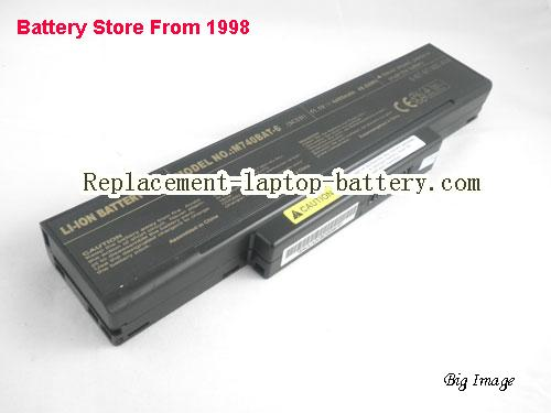 CLEVO W761TUN Battery 4400mAh Black
