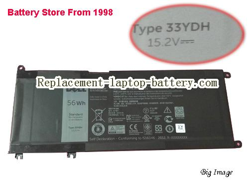 DELL 33YDH Battery 3500mAh, 56Wh  Black