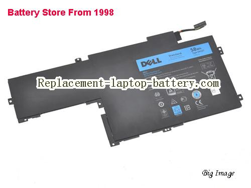 DELL C4MF8 Battery 58Wh Black