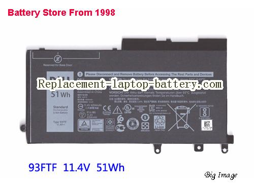 Genuine Battery For DELL 93FTF 083XPC  83XPC D4CMT