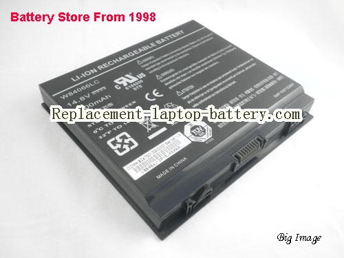 DELL W83066LC Battery 6600mAh Black
