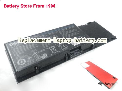DELL C565C Battery 7800mAh, 85Wh  Red