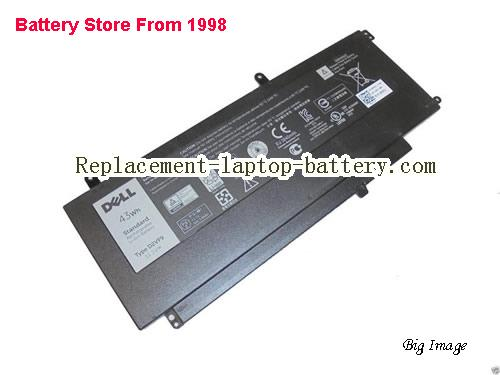 DELL D2VF9 0PXR51 Battery 43Wh Black