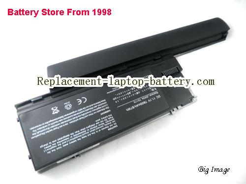 DELL 312-0386 Battery 7800mAh Black+Grey