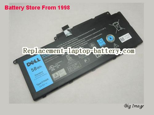 Genuine F7HVR Battery For Dell Inspiron 7437 7000 7537 14.8V 58Wh
