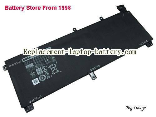 DELL T0TRM Battery 61Wh Black
