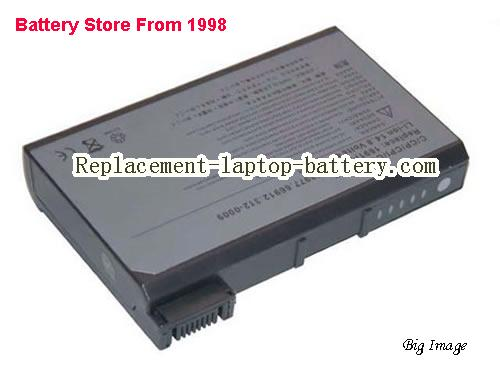 Dell 1691P 75UYF 5081P 53977 Latitude C540 C600 C610 C640 C800 CPI CPX Series Inspiron 2500 3700 8000 Replacement Battery