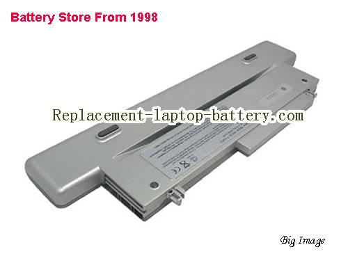 DELL X0057 Battery 4400mAh Silver