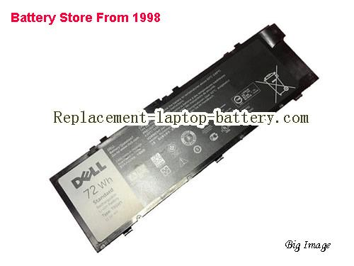 New Genuine DELL T05W1 Dell Precision M7710 Laptop Battery 72Wh