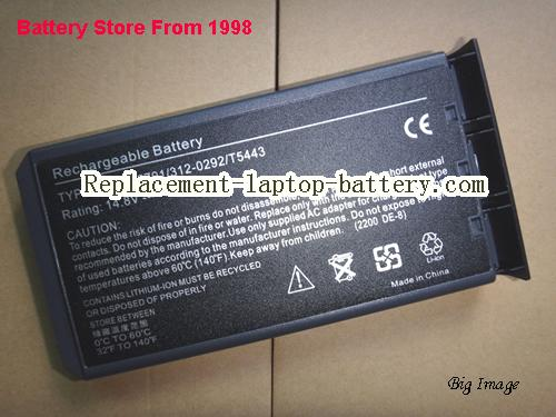 NEC W5173 Battery 4400mAh Black