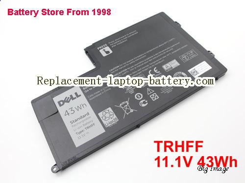 DELL TRHFF Battery 43Wh Black