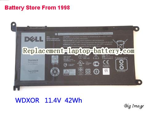 Dell WDX0R WDXOR Battery For Inspiron 15 7000 Series