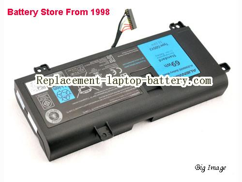 DELL 0G05YJ Battery 69Wh Black