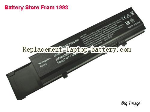 DELL 7FJ92 Battery 6600mAh Black