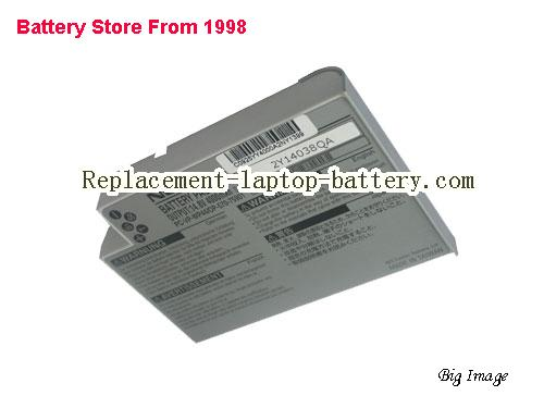 NEC E600 Battery 4400mAh Grey