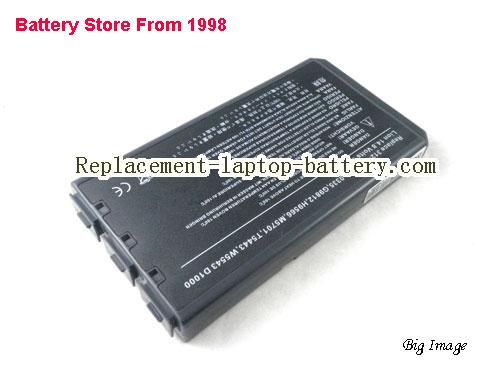 NEC W5173 Battery 4400mAh Grey