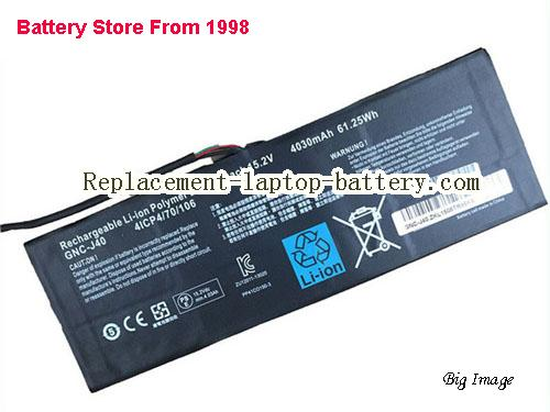 Genuine GIGABYTE GNC-J40 GNCJ40 961TA013F Battery Pack
