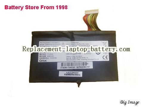 HASEE Z7M-KP7G1 GE5502 Battery 4100mAh, 46.74Wh  Black