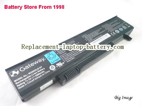 GATEWAY T1424u Battery 5200mAh Black