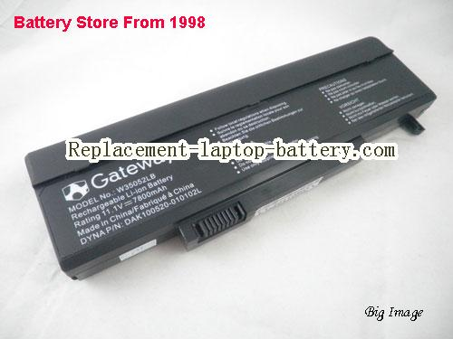 GATEWAY 934T2690F Battery 7800mAh, 81Wh  Black