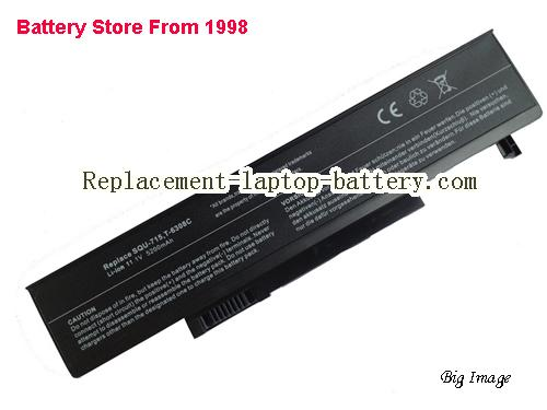 GATEWAY T-1620 Battery 5200mAh Black