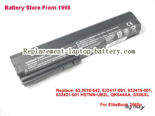 HP 632417-001 Battery 5200mAh Black