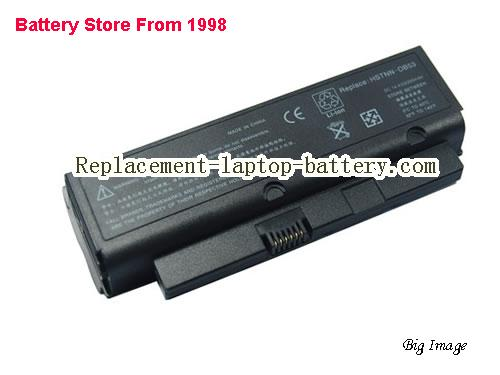 HP Compaq 447649-321 HSTNN-OB53 Business Notebook 2210b Presario B1200 Series Replacement Laptop Battery 4-Cell