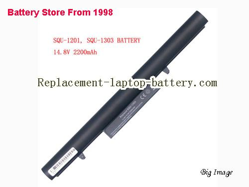 HASEE 916T2203H Battery 2200mAh Black