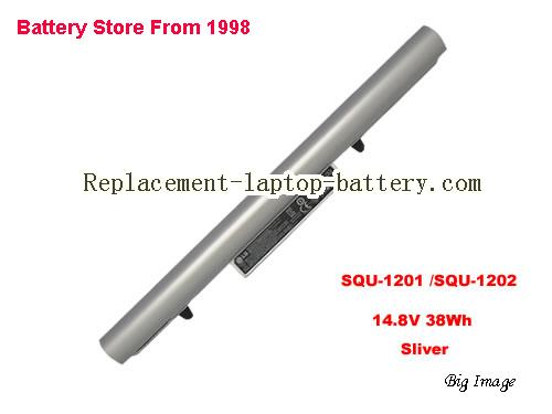 HASEE CQB-924 Battery 2600mAh, 38Wh  Sliver