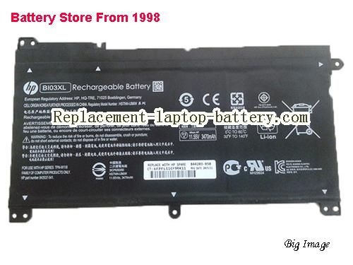 HP Z1C97PA Battery 3470mAh, 41.7Wh  Black
