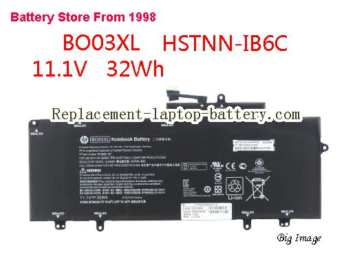 HP 752235-005 Battery 37Wh Black
