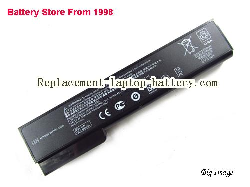 HP ProBook 6560b (ENERGY STAR) (QC526PA) Battery 5200mAh Black