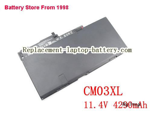 HP ZBook 15u G2 (M4R49ET) Battery 50Wh Black