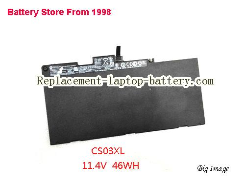 HP ZBook 15u G3 T8R83AW Battery 46.5Wh Black