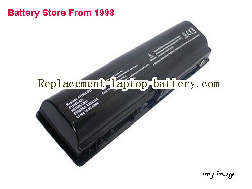 HP 411462-321 Battery 5200mAh Black