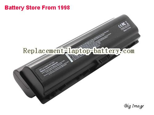 HP 411462-321 Battery 10400mAh Black