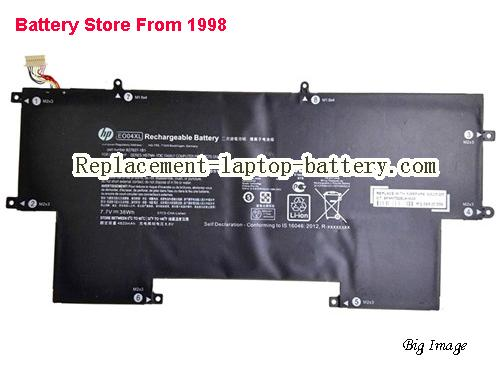 HP HSTNNIB7I Battery 4900mAh, 38Wh  Black