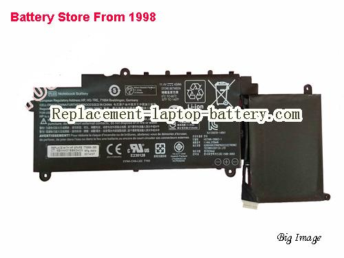 HP HSTNN-DB6O Battery 3720mAh Black