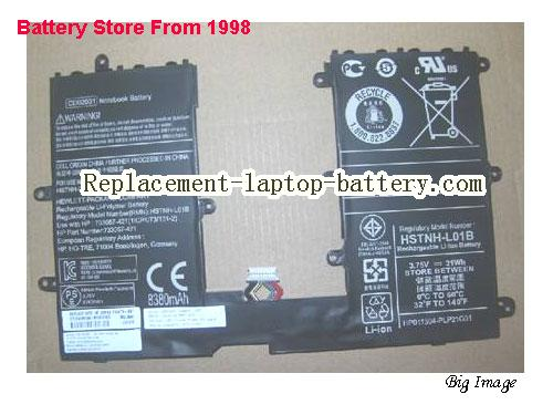 HP HSTNN-Q12C Battery 31Wh Black
