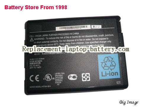 HP 374762-001 Battery 6600mAh Black