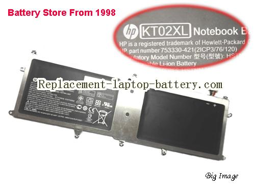 HP KT02XLL series Battery 25Wh Black