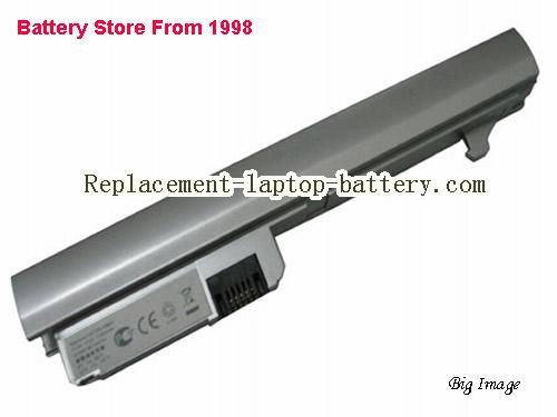 HP 2133 Mini-Note PC Series Battery 4400mAh Silver